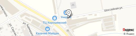 МЕТИЗ Групп на карте Пятигорска