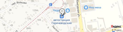 МТС на карте Горячеводского