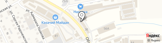 ТЕПЛОКРАФТ на карте Пятигорска