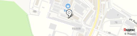 Магазин автозапчастей и автостекол на карте Горячеводского