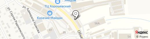 Тепло-Сервис на карте Пятигорска