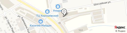 Макита на карте Пятигорска