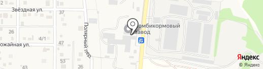 Минводский комбикормовый завод на карте Загорского