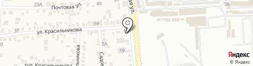 Феникс на карте Пятигорска