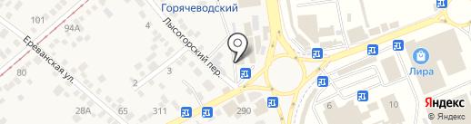 Банкомат, Минбанк, ПАО на карте Горячеводского