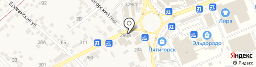 Kookla на карте Горячеводского