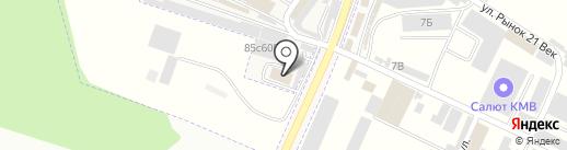 Торгово-монтажная компания на карте Горячеводского
