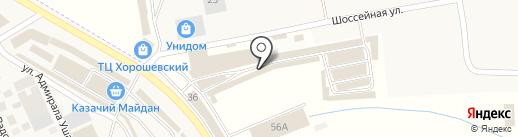 Мир сантехники на карте Пятигорска