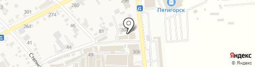 Центр шин на карте Горячеводского