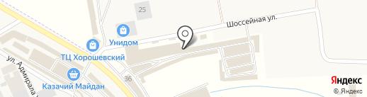 Мойки-гофры на карте Пятигорска
