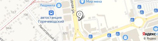 СонЭт на карте Горячеводского