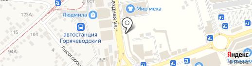 RADA на карте Горячеводского
