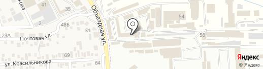 ЮНИСТРИМ на карте Горячеводского