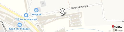 ЛАД на карте Пятигорска