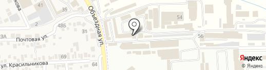 Торговая компания на карте Горячеводского