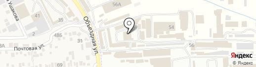 Хозтовары на карте Горячеводского