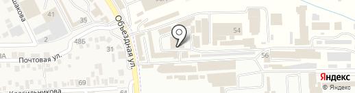 Магазин сантехники №92 на карте Горячеводского