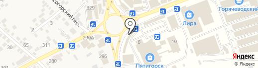 Банкомат, Сбербанк, ПАО на карте Горячеводского