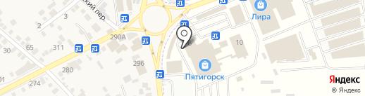 Магазин по продаже эротических товаров на карте Горячеводского