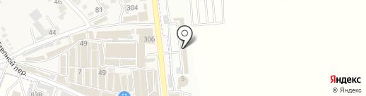 ТехноЮг на карте Горячеводского