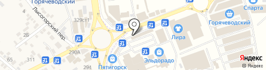 ШВЕЙМАСТЕР на карте Горячеводского