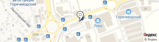 Грандъ Персона на карте Горячеводского