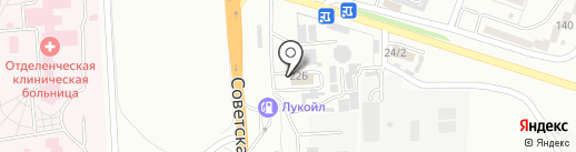 Лада Центр Пятигорск на карте Минеральных Вод