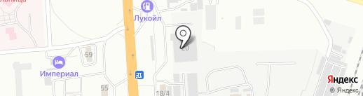 Кавминводский автоцентр КАМАЗ на карте Минеральных Вод