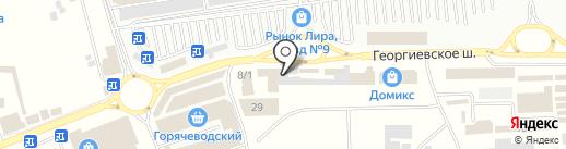 Aziz bebe на карте Пятигорска
