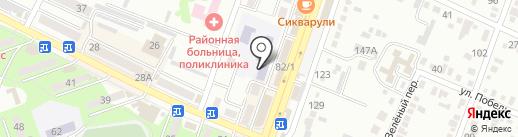 Детский сад №2, Золотой ключик на карте Минеральных Вод
