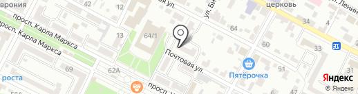 Финансовое управление Минераловодского городского округа на карте Минеральных Вод