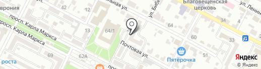 Финансовое управление Минераловодского муниципального района на карте Минеральных Вод