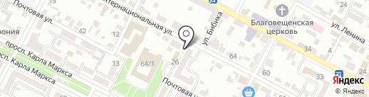 Банкомат, НБ Траст, ПАО на карте Минеральных Вод