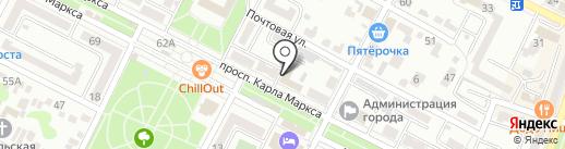Минераловодский городской суд на карте Минеральных Вод