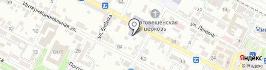 Всероссийское добровольное пожарное общество на карте Минеральных Вод