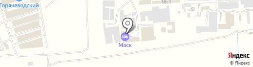 МАСК на карте Пятигорска