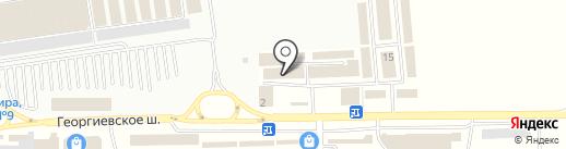 Спецторг КМВ на карте Пятигорска