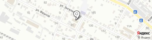 Центр временного содержания несовершеннолетних правонарушителей на карте Минеральных Вод