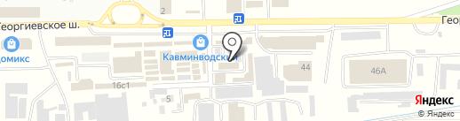СпецАвтоСервис на карте Пятигорска