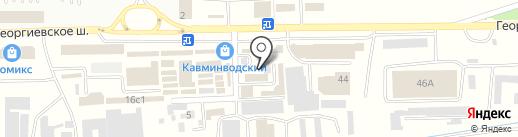 ГАРАНТ-ТЕНТ на карте Пятигорска