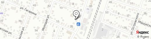 Почтовое отделение №9 на карте Минеральных Вод