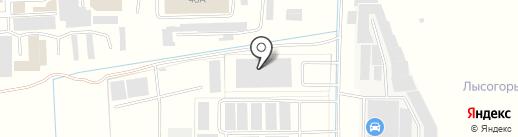 Диорит-Экспо на карте Пятигорска