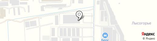 Диорит-Транзит на карте Пятигорска