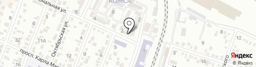 Продуктовый магазин на карте Минеральных Вод