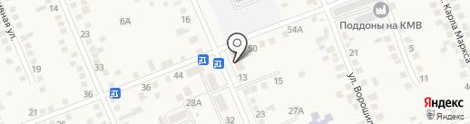 Продуктовый магазин на карте Константиновской