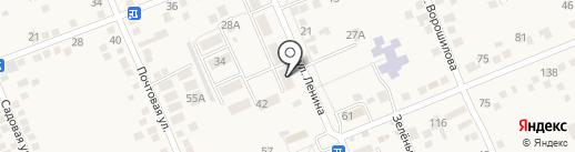 Сбербанк, ПАО на карте Константиновской