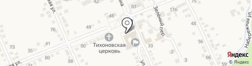 Почтовое отделение на карте Константиновской