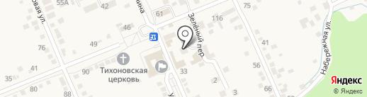 Врачебная амбулатория на карте Константиновской
