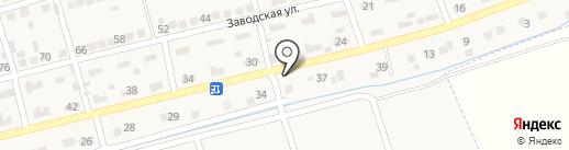 Zodиаk на карте Константиновской