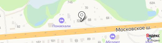 Понаехали на карте Пыры